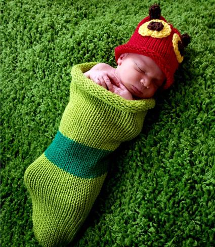 Baby in Sock